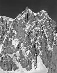 Mont Maudit, Parete Sud-Est e Cresta Kuffner, Gruppo del Monte Bianco, Italia INFO