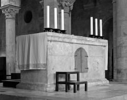 Abbazia di Sant'Antimo, Altare, Toscana, Italia INFO