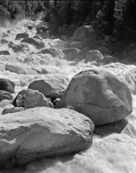 Massi sull'Arveyron, Monte Bianco, Francia INFO