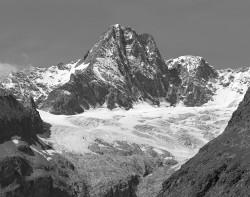 Aiguille des Glaciers, Estate, Gruppo del Monte Bianco, Italia INFO